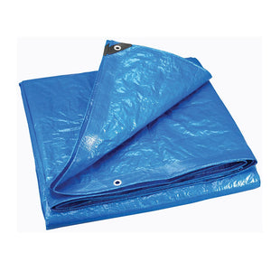Boat Cover Tarp ƒ??Heavyweight -10' X 20' - Blue