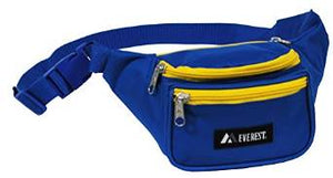 Everest Signature Waist Pack - Standard - Royal / Yellow