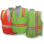 Multi-Pocket Surveyor's Vest - Solid/Mesh