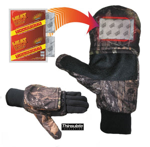 991-MO - Mossy Oak Heated Pop Top Glove - Pair