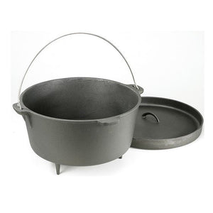 Cast Iron Dutch Oven - 12 QT