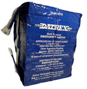 Datrex 3600 Emergency Food Bar - 3 Day/72 Hour Emergency Rations