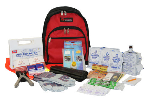 Car Survival Kit: 2 Person - 3 Day/72 Hour Auto Roadside Kit