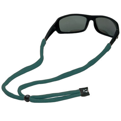 Original Cotton Small End Eyewear Retainers - Dark Green