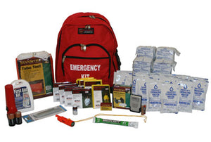 CUSTOMIZED Survival Kit Deluxe Emergency Disaster USA Preparedness - 4-Person/72 Hours