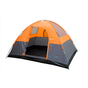 3 Season Tent - 8 x 10 x 6FT-Orange W/Gray Trim