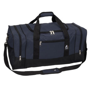 Everest Luggage Sporty Gear Bag - Large - Navy/Black
