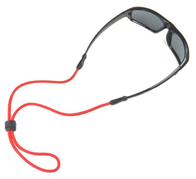3MM Universal Fit Nylon Rope Eyewear Retainers - Red