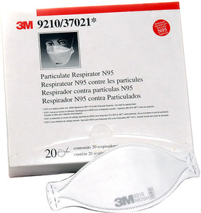 9210 - 3M N95 Partical/Dust Mask - Box of 20