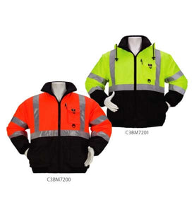 3A Safety - Reversible Two-Tone Class 3 Bomber Jacket