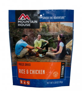 Rice and Chicken - Case (6 Pouches)