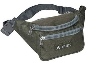 Everest Signature Waist Pack - Standard - Dark Olive