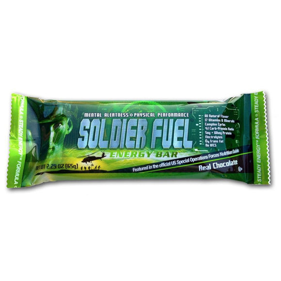 Soldier Fuel Energy Food Bar - Military Grade