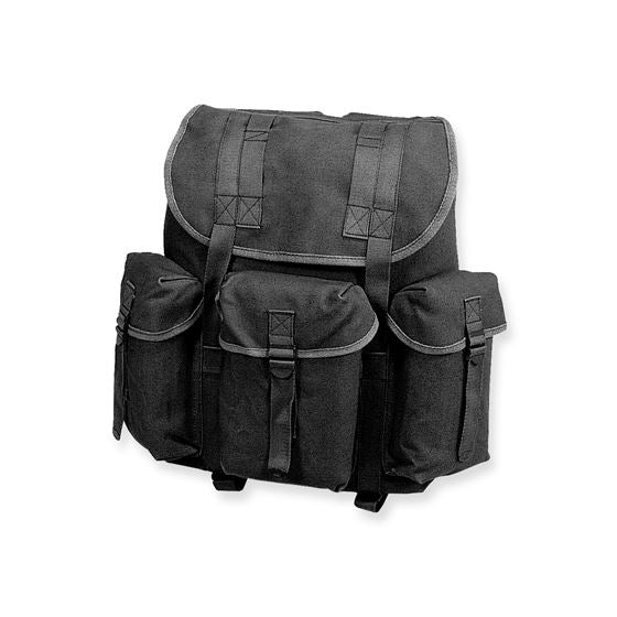 Cotton G.I. Rucksack - Black