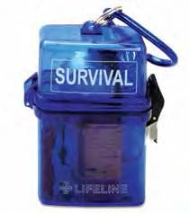 Weather Resistant Survival Kit