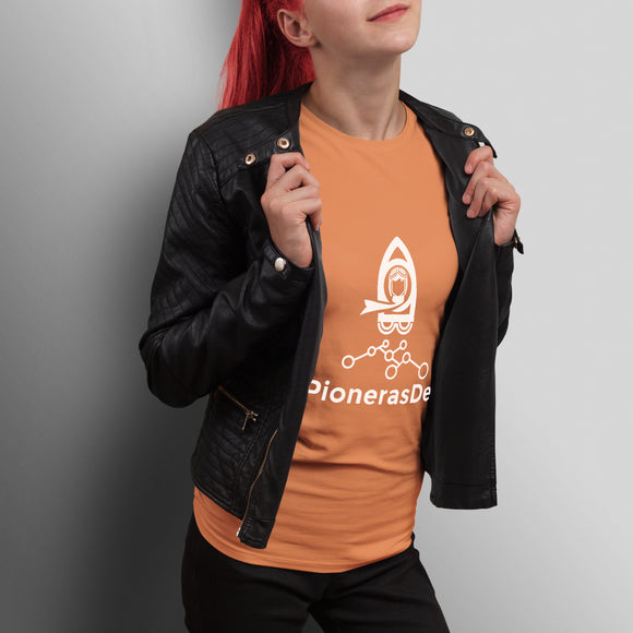 Donación PionerasDev Orange T-Shirt - Women