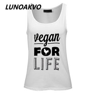 Vegan for Life Women's Tunic Tank Top