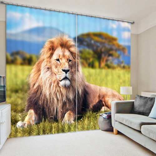 Magestic Lion King Drapes
