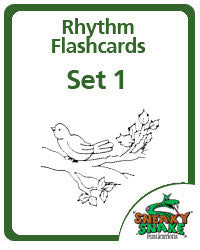 Rhythm Flashcards, Set 1