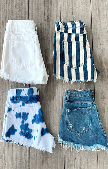 Shop Denim Shorts