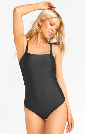 Beach Babe One Piece ~ Black