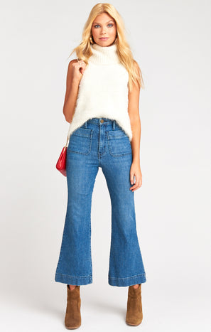Cropped Farrah Trouser ~ Stillwater