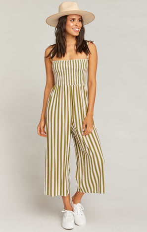 Parton Playsuit ~ Ciao Bella Stripe