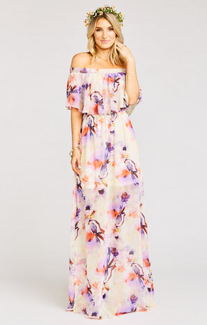 Hacienda Maxi Dress ~ Abers Babers