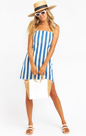 Aria Dress ~ Napa Stripe