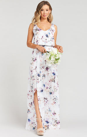 Kendall Maxi Dress ~ Bouquet Beauty