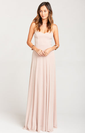 Godshaw Goddess Gown ~ Dancing Queen Shine Blush