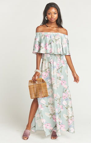 Hacienda Maxi Dress ~ Primavera Floral