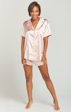 Slumber PJ Set ~ Bridesmaid Pink