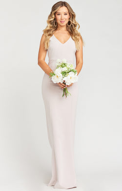 Morgan Gown ~ Show Me The Ring Stretch Crepe