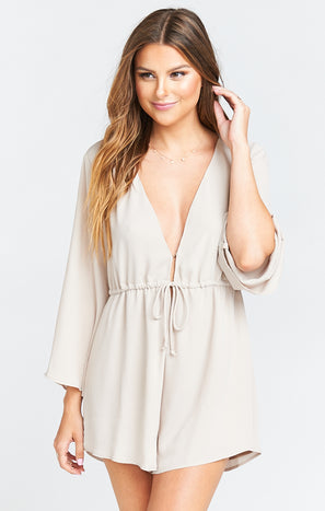 Roxy Romper ~ Show Me The Ring Crisp