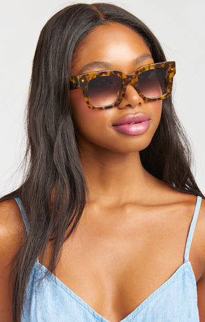 Crap Eyewear The Downtown Purr Sunglasses ~ Tort