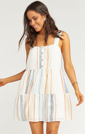 Marisa Dress ~ Desert Dreaming Stripe