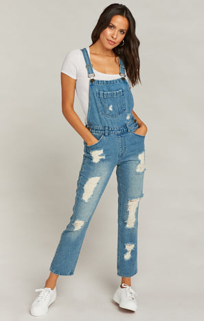 Alma Overalls ~ Pitch Blue