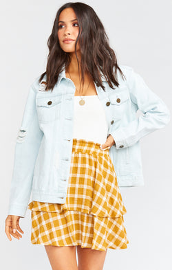 Drine Denim Jacket ~ Ocean Mist