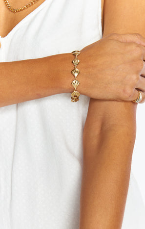 Vanessa Mooney Atlas Bracelet ~ Gold