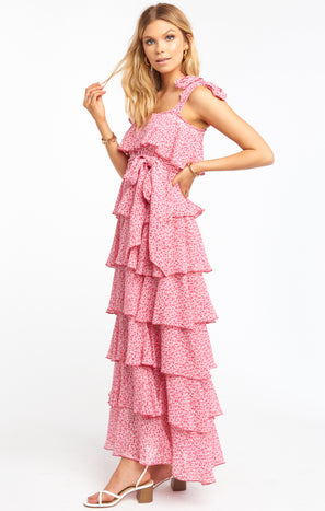 The Best Dress ~ Pink Mini Floral