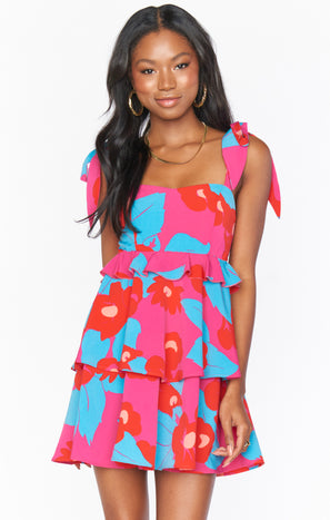 March Mini Dress ~ Bethany Blooms