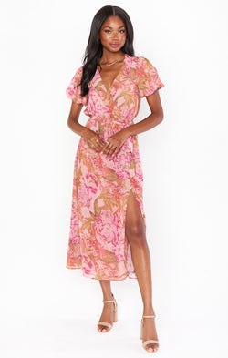 Verity Dress ~ Garden Floral