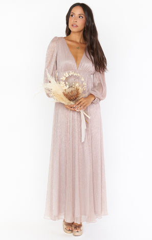 Rosaline Dress ~ Magic Mauve Glimmer