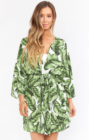 California Kimono ~ Frond of You