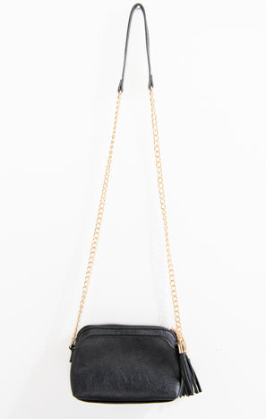 Henley Crossbody Bag ~ Black/Gold