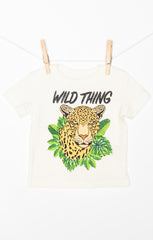 wolfie tee ~ wild cheetah graphic