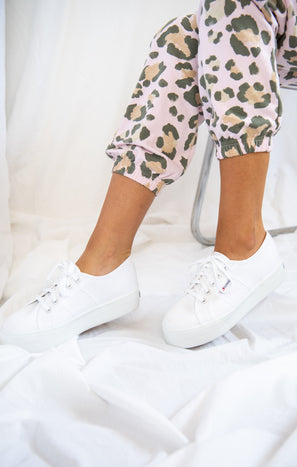 Superga 2790 Platform Sneakers ~ White