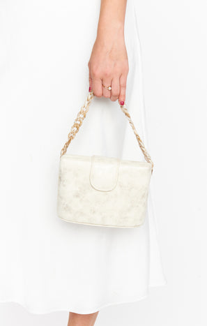 Enchanted Evening Bag ~ Ivory