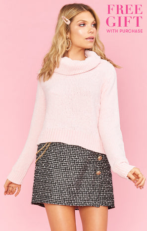 Holly Sweater ~ Rose Chenille